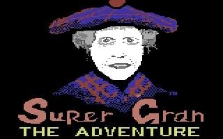 Super Gran game title screen