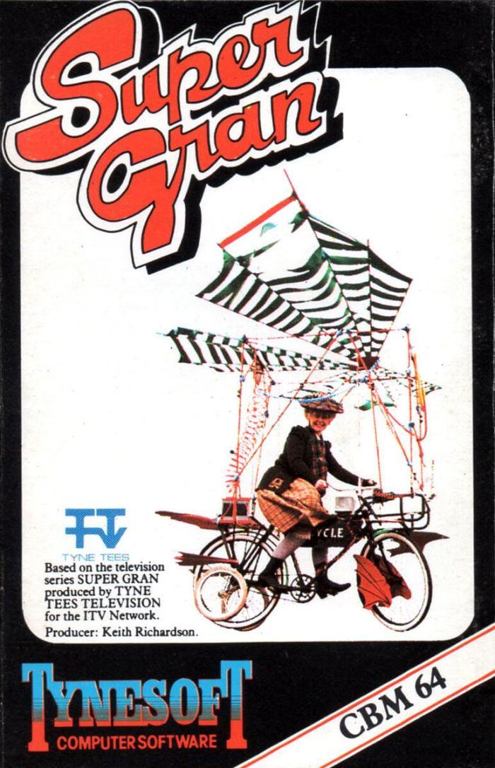 Super Gran on the Commodore 64